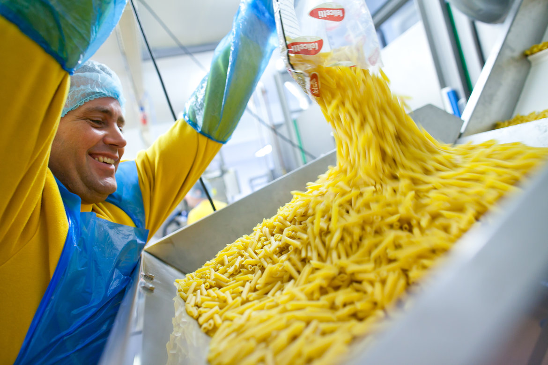 voorgekookte pasta